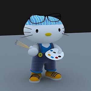 凱蒂貓模型