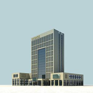 3d<font class='myIsRed'>办公楼</font>模型