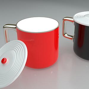 杯子合集馬克杯模型