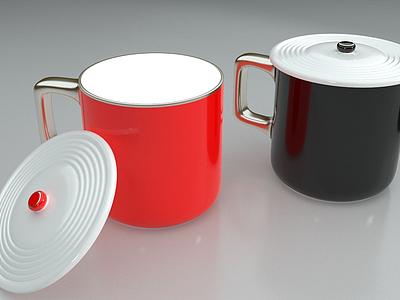 杯子合集馬克杯模型3d模型