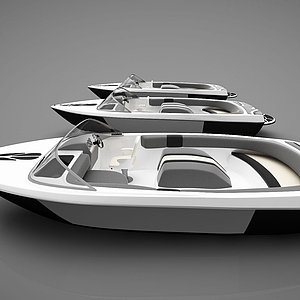 小船組合模型