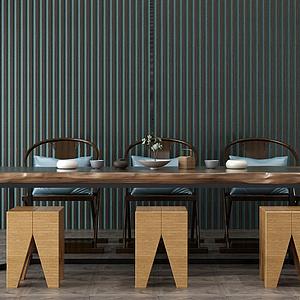 3d茶室模型