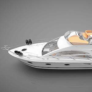 現代小船模型
