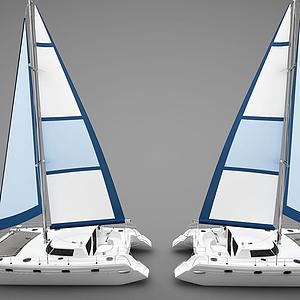 現代帆船模型