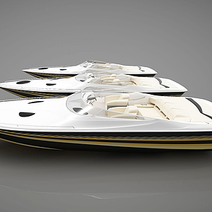現代小船組合模型