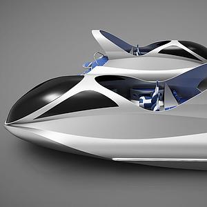 現代創意小船模型