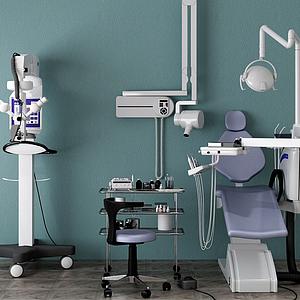 牙科設備模型