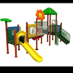 3d滑<font class='myIsRed'>滑梯</font>兒童游樂設施模型