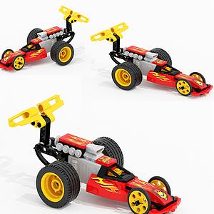 兒童飛車玩具模型