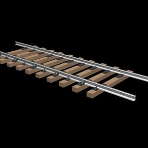 高鐵鐵軌,鐵路模型