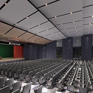 大型會議廳模型