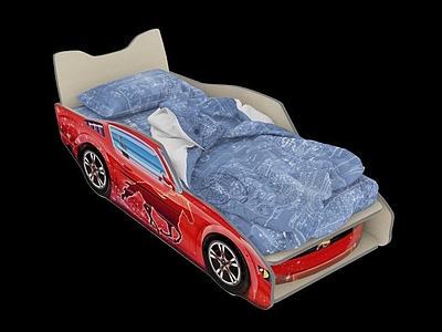 3d現代<font class='myIsRed'>汽車</font>床模型