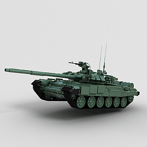 3dT90二戰<font class='myIsRed'>坦克</font>模型