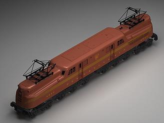 玩具火車模型