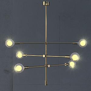 3d魔豆灯模型