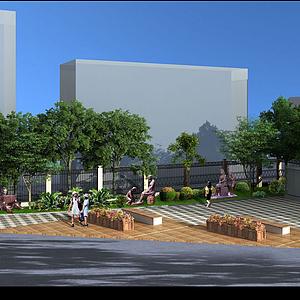 3d绿化模型