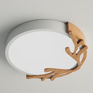 北歐吸頂燈模型