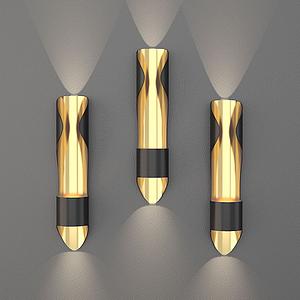 工業風壁燈模型
