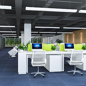 办公区模型