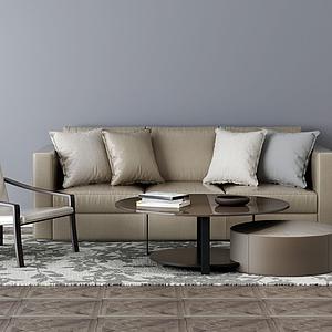 家具组合沙发模型