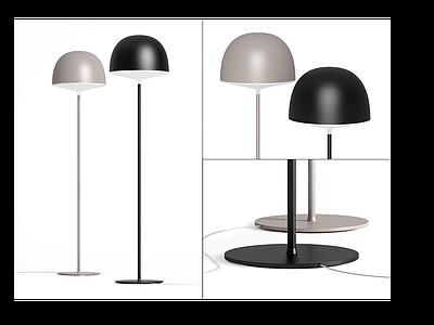 現代落地燈組合模型3d模型