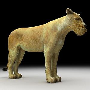 美洲獅模型