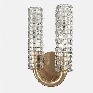 3dU形壁燈模型