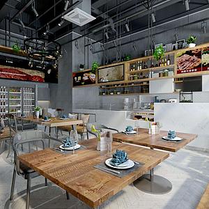 经典餐厅模型