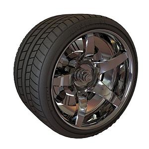 加厚輪胎模型