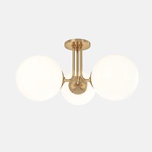 圓形吸頂燈模型