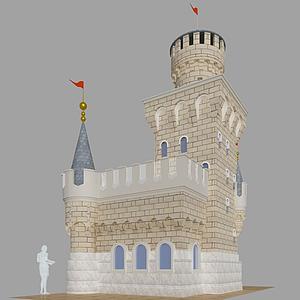 3d城堡模型