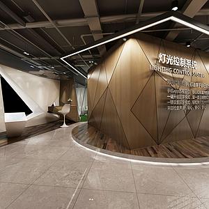展示厅前台模型