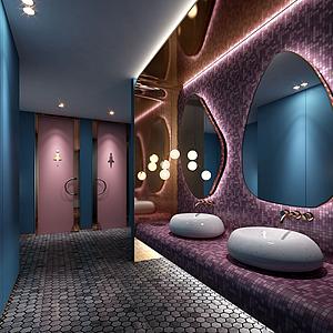 3d酒店<font class='myIsRed'>衛生間</font>模型