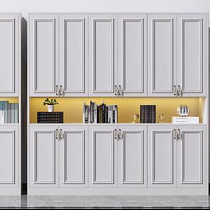 3d欧式鞋柜模型