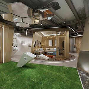 家具展示厅模型