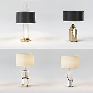 創意金屬臺燈模型