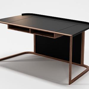 3d<font class='myIsRed'>书桌</font>实木桌模型