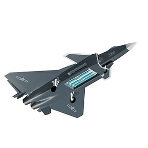 游戏战斗机模型