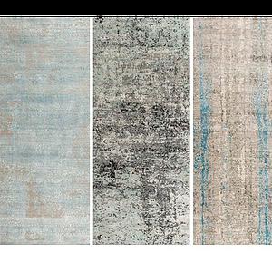現代花式地毯模型