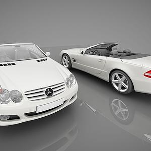 3d现代奔驰<font class='myIsRed'>小汽车</font>模型