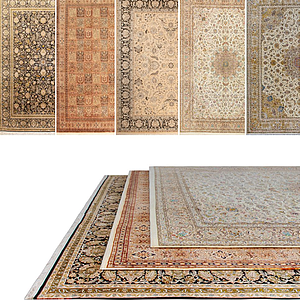 歐式花色地毯模型