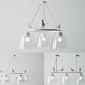 3d鳥燈模型