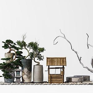 園林景觀擺設模型