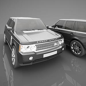 3d現代風格小汽車模型