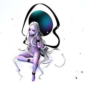 游戏精灵HIVA模型