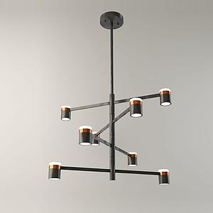 3d北欧装饰灯模型
