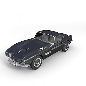 3d宝马 507 coupe 1959款模型