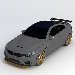 3d宝马M4 2016款 M4 GTS模型