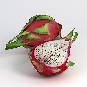 火龍果切片模型