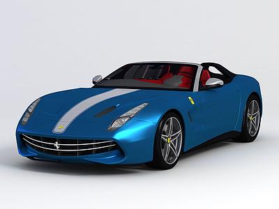 法拉利跑車模型